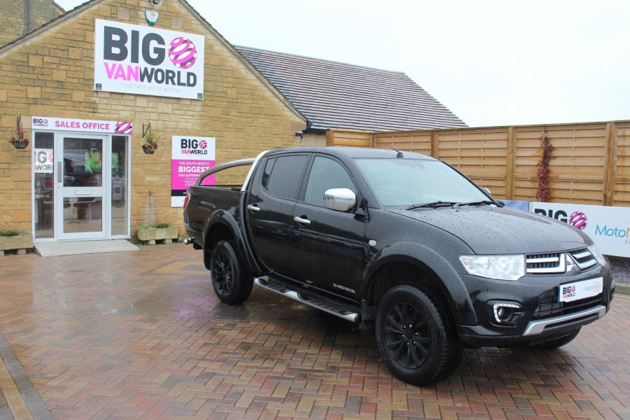 MITSUBISHI L200 DI-D 176 4X4 BARBARIAN BLACK LB SPECIAL EDITIONS DOUBLE CAB WITH ROLL'N'LOCK TOP - 6848 - 2