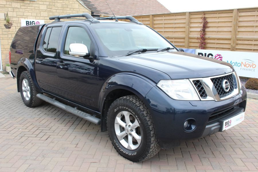 NISSAN NAVARA DCI 190 TEKNA CONNECT 4X4 DOUBLE CAB WITH TRUCKMAN TOP - 6786 - 3