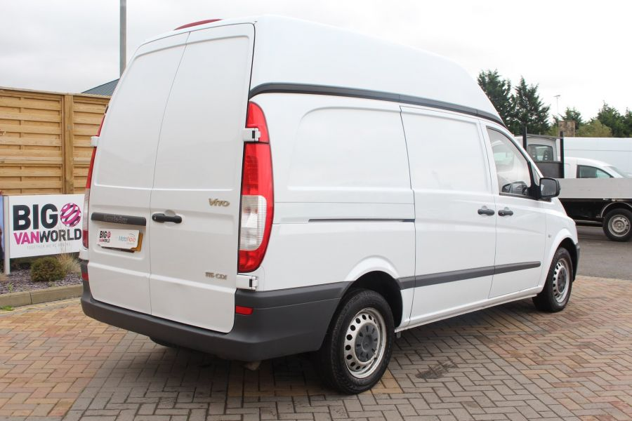 MERCEDES VITO 116 CDI 163 BHP LWB HIGH ROOF - 6716 - 5