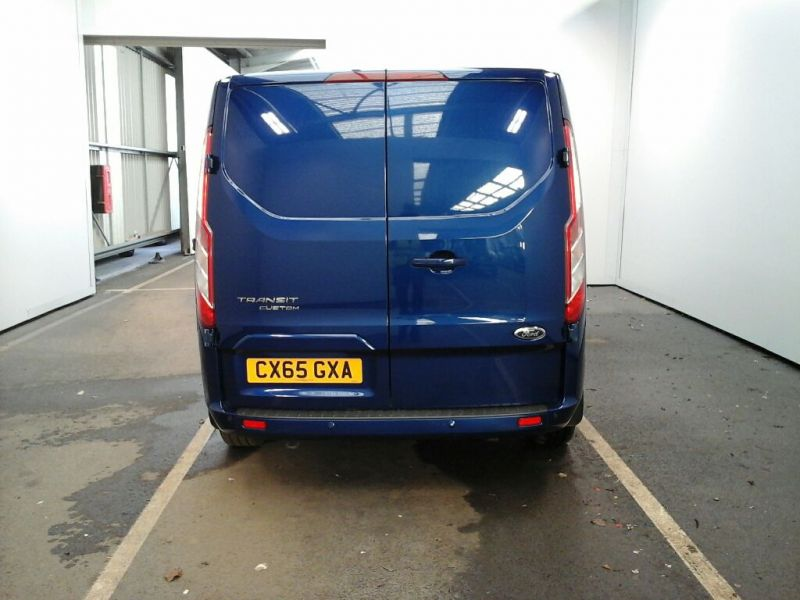 FORD TRANSIT CUSTOM 270 TDCI 155 L1 H1 LIMITED SWB LOW ROOF FWD - 9029 - 2