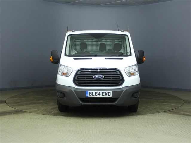 FORD TRANSIT 350 TDCI 125 DRW L4 SINGLE CAB 'ONE STOP' ALLOY DROPSIDE - 7187 - 7