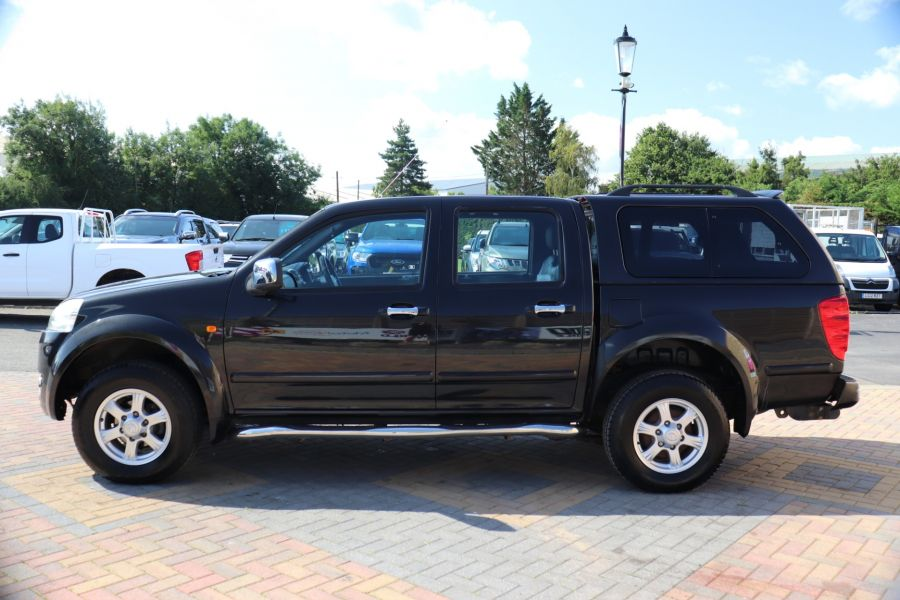 GREAT WALL STEED TD 141 SE 4X4 DOUBLE CAB WITH TRUCKMAN TOP - 9849 - 8