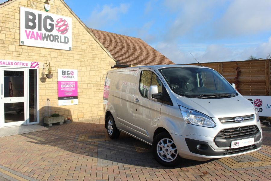 FORD TRANSIT CUSTOM 270 TDCI 125 L1 H1 LIMITED SWB LOW ROOF FWD - 7620 - 2