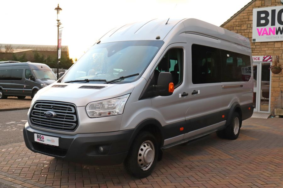 FORD TRANSIT 460 TDCI 155 L4H3 TREND 17 SEAT BUS HIGH ROOF DRW RWD - 10109 - 9