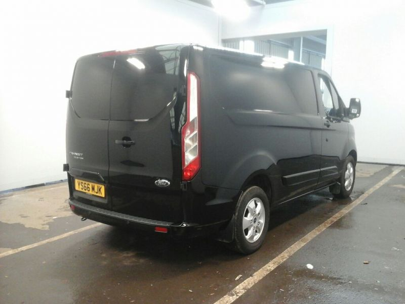 FORD TRANSIT CUSTOM 270 TDCI 130 L1H1 LIMITED SWB LOW ROOF FWD - 10432 - 2