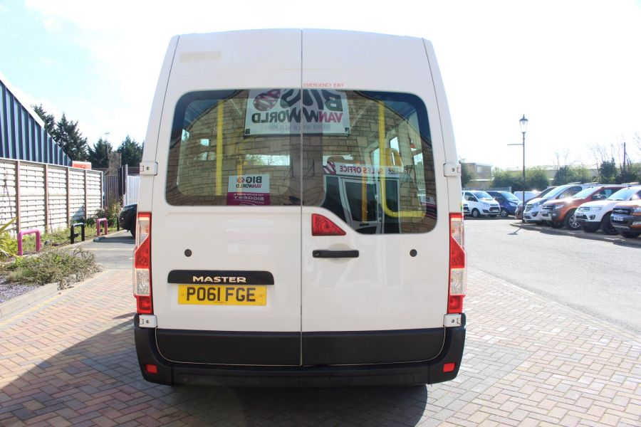 RENAULT TRUCKS MASTER LM35 DCI 100 L3 H2 8 SEAT PASSENGER TRANSPORT BUS AMBULANCE WITH WHEELCHAIR ACCESS LWB MEDIUM ROOF - 9138 - 6
