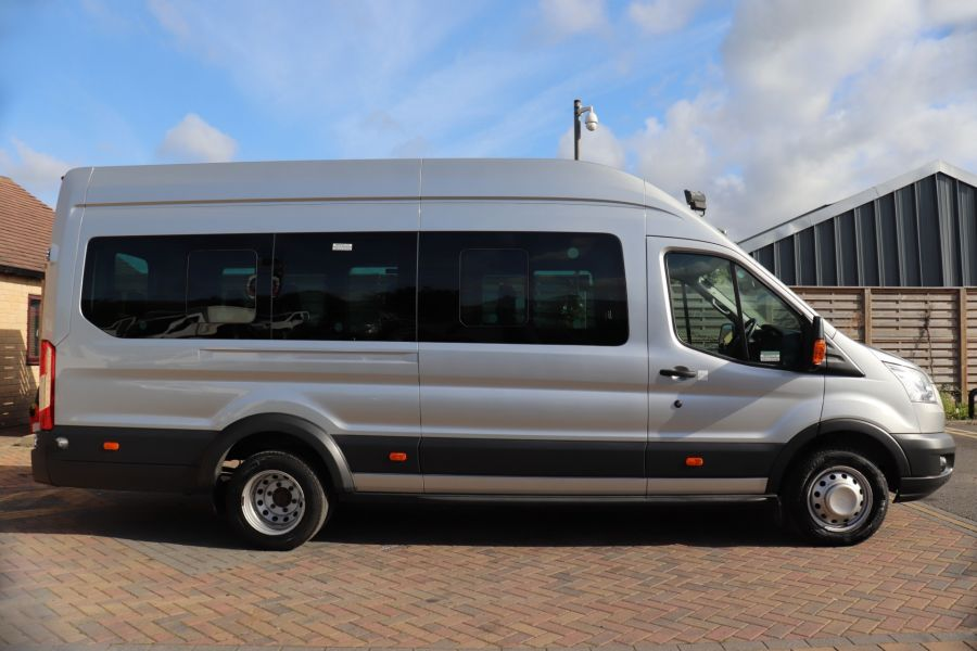 FORD TRANSIT 460 TDCI 155 L4H3 TREND 17 SEAT BUS HIGH ROOF DRW RWD  - 9893 - 4