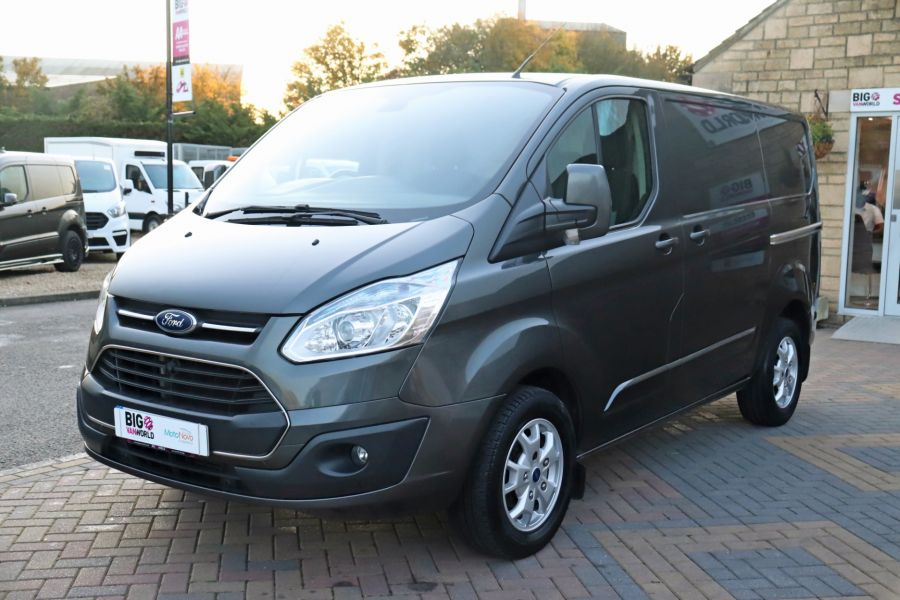 FORD TRANSIT CUSTOM 310 TDCI 155 L1H1 LIMITED SWB LOW ROOF FWD - 9827 - 9