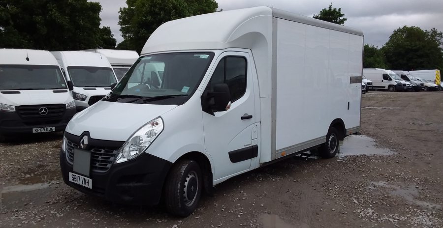 RENAULT MASTER LL35 DCI 130 BUSINESS LOW LOADER LUTON VAN RWD - 10844 - 8
