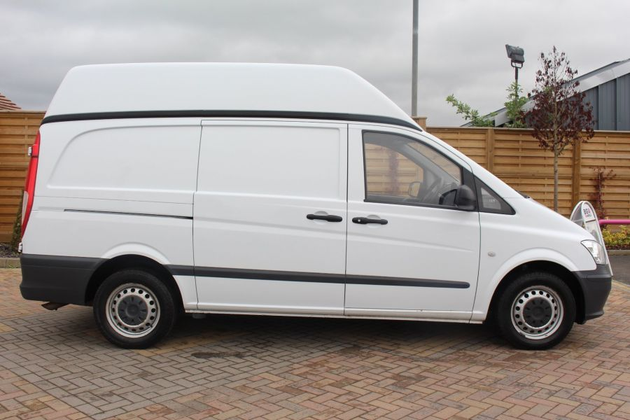 MERCEDES VITO 116 CDI 163 BHP LWB HIGH ROOF - 6716 - 4