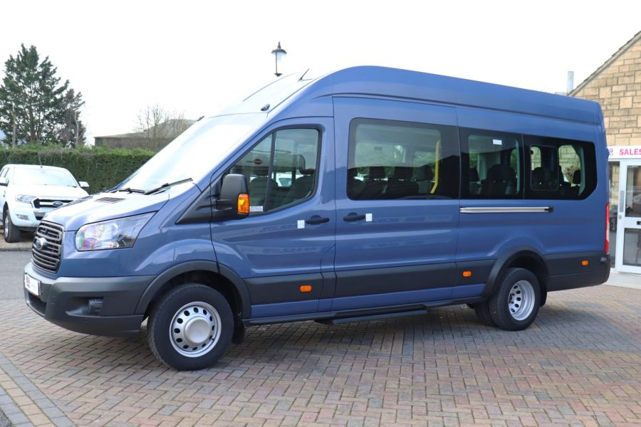 FORD TRANSIT 460 TDCI 155 L4H3 17 SEAT BUS HIGH ROOF DRW RWD - 10252 - 9