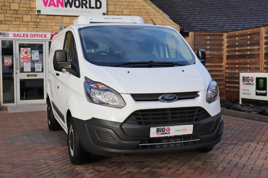 FORD TRANSIT CUSTOM 270 TDCI 105 L1H1 SWB LOW ROOF FRIDGE VAN WITH OVERNIGHT FWD - 11587 - 6