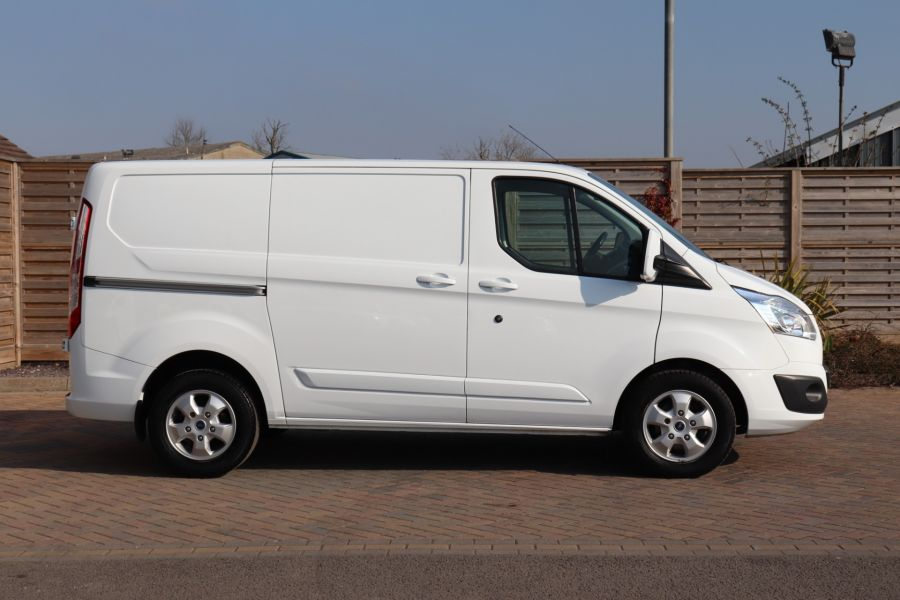 FORD TRANSIT CUSTOM 340 TDCI 130 L1H1 LIMITED SWB LOW ROOF FWD - 10566 - 5