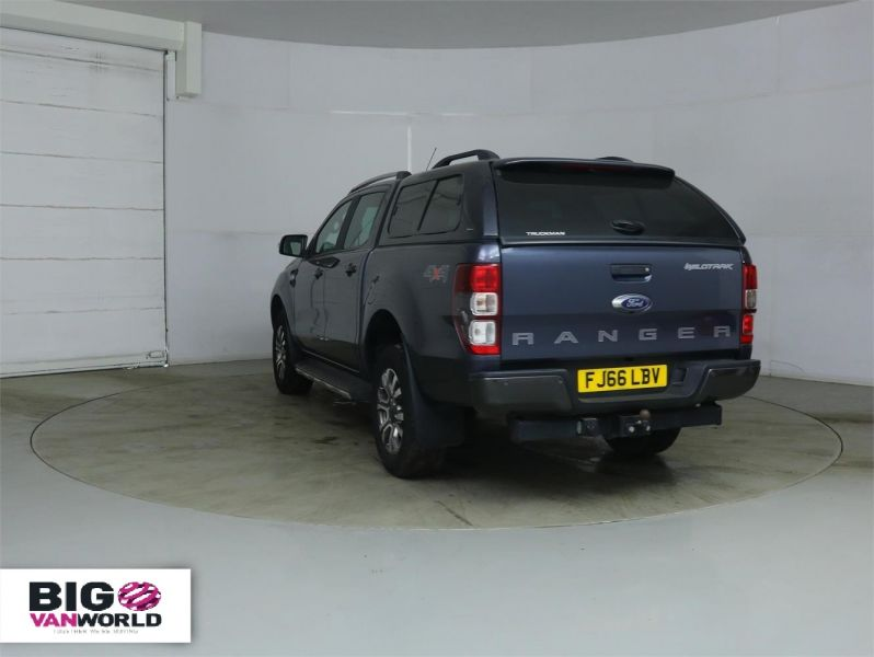 FORD RANGER WILDTRAK TDCI 200 4X4 DOUBLE CAB WITH TRUCKMAN TOP - 8963 - 5