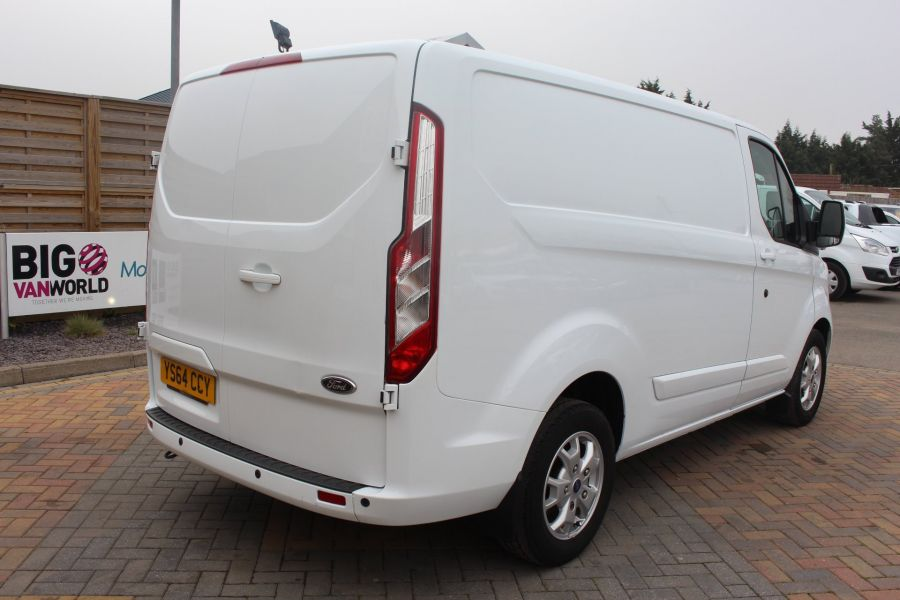 FORD TRANSIT CUSTOM 290 TDCI 155 L1 H1 LIMITED SWB LOW ROOF FWD - 9074 - 5