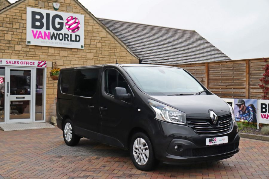 RENAULT TRAFIC SL27 DCI 120 SPORT ENERGY SWB LOW ROOF - 9856 - 2
