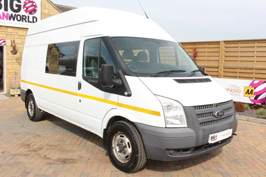 FORD TRANSIT 350 TDCI 100 LWB HIGH ROOF 7 SEAT MESSING UNIT - 7251 - 1