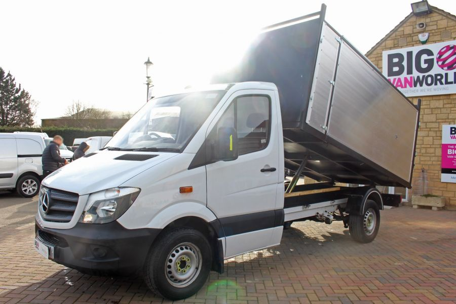 MERCEDES SPRINTER 313 CDI 129 MWB SINGLE CAB NEW BUILD ARBORIST ALLOY TIPPER - 10501 - 7