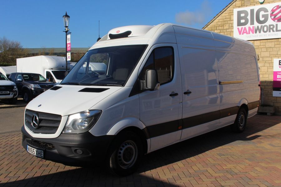 MERCEDES SPRINTER 313 CDI 129 LWB FRIDGE VAN HIGH ROOF - 9146 - 9