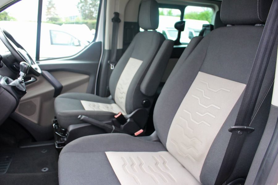 FORD TRANSIT CUSTOM 310 TDCI 170 L1 H1 LIMITED DOUBLE CAB 5 SEAT CREW VAN SWB LOW ROOF - 9234 - 21