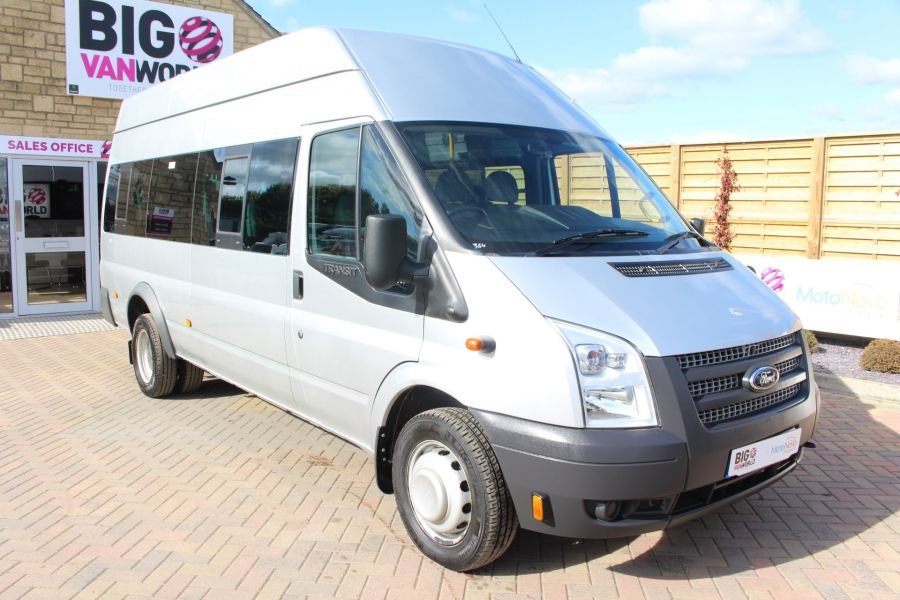 FORD TRANSIT 430 TDCI 135 LWB EL HIGH ROOF 17 SEATS BUS RWD - 6765 - 3