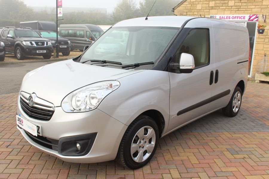 VAUXHALL COMBO 2000 CDTI 90 L1 H1 SPORTIVE SWB LOW ROOF - 8441 - 8
