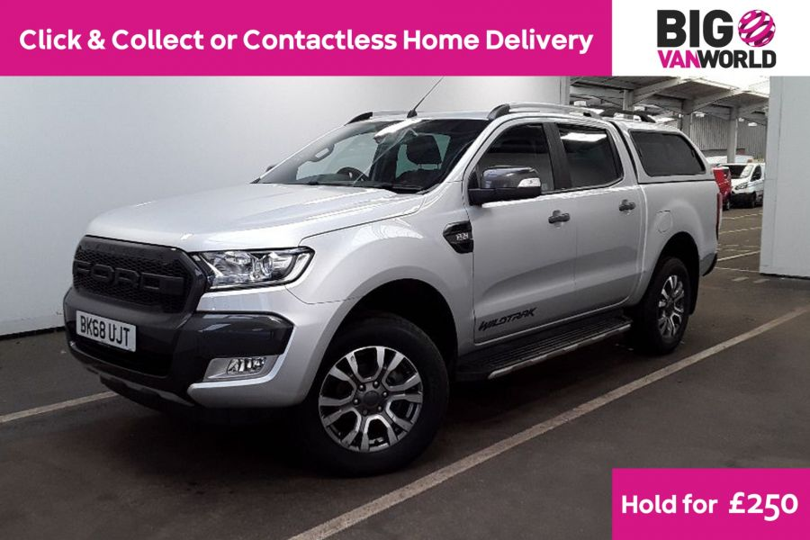 FORD RANGER TDCI 200 WILDTRAK 4X4 DOUBLE CAB WITH TRUCKMAN TOP - 12262 - 1