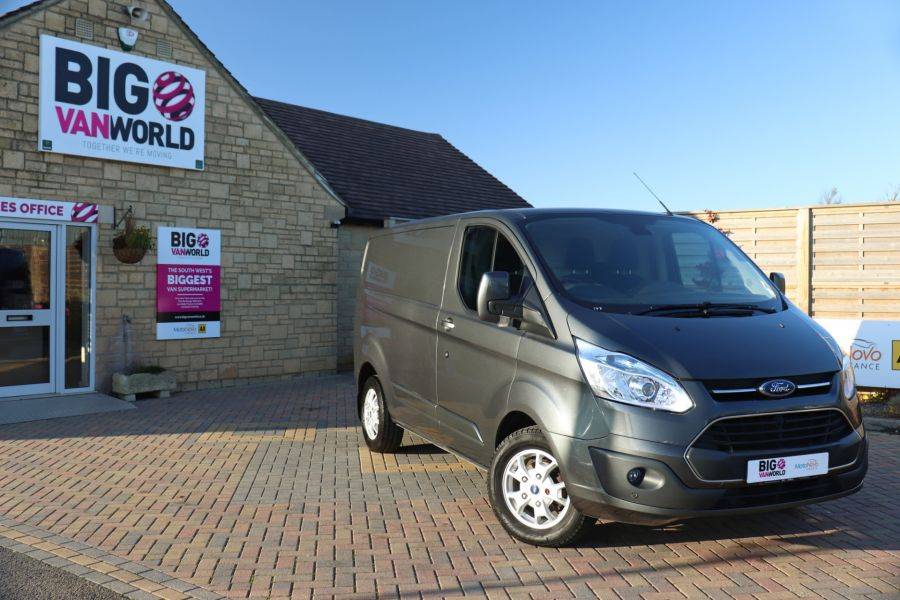 FORD TRANSIT CUSTOM 310 TDCI 155 L1H1 LIMITED SWB LOW ROOF FWD - 9827 - 1