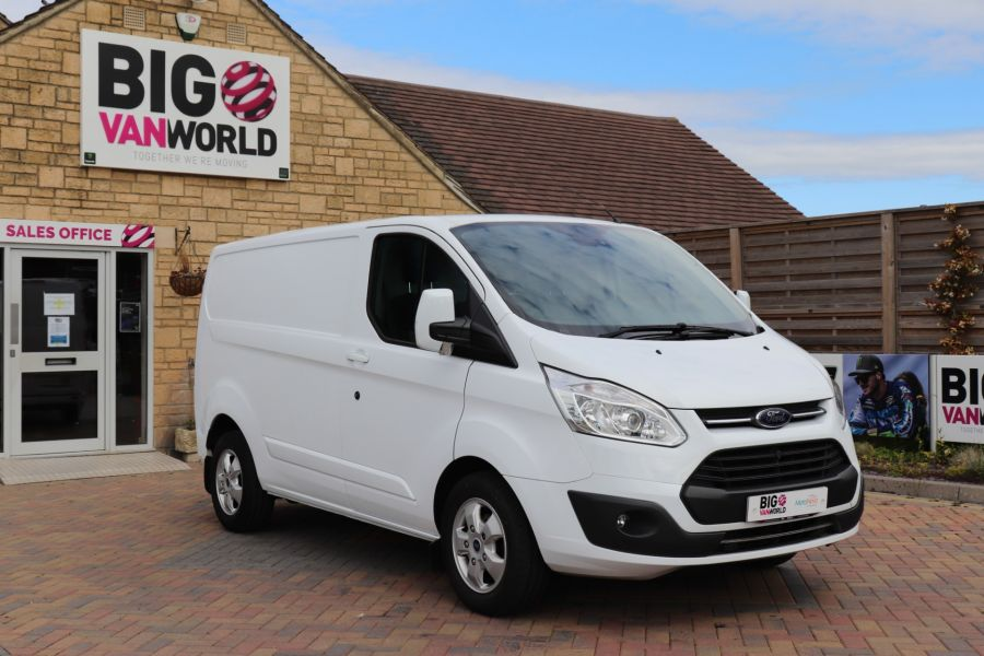 FORD TRANSIT CUSTOM 310 TDCI 130 L1H1 LIMITED SWB LOW ROOF - 10921 - 3