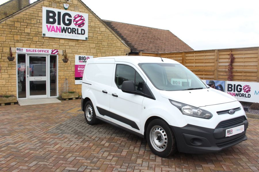 FORD TRANSIT CONNECT 220 TDCI 75 L1 H1 DOUBLE CAB 5 SEAT CREW VAN - 7182 - 2
