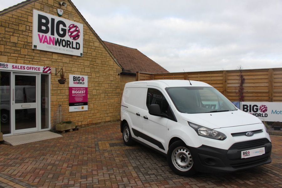 FORD TRANSIT CONNECT 220 TDCI 75 L1 H1 DOUBLE CAB 5 SEAT CREW VAN - 7182 - 1