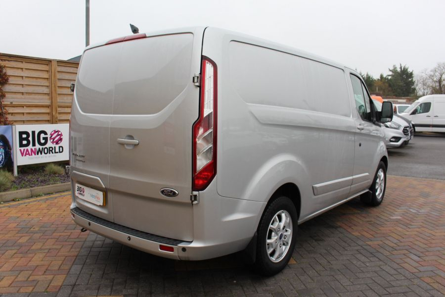 FORD TRANSIT CUSTOM 270 TDCI 155 LIMITED L1 H1 SWB LOW ROOF FWD - 8552 - 5