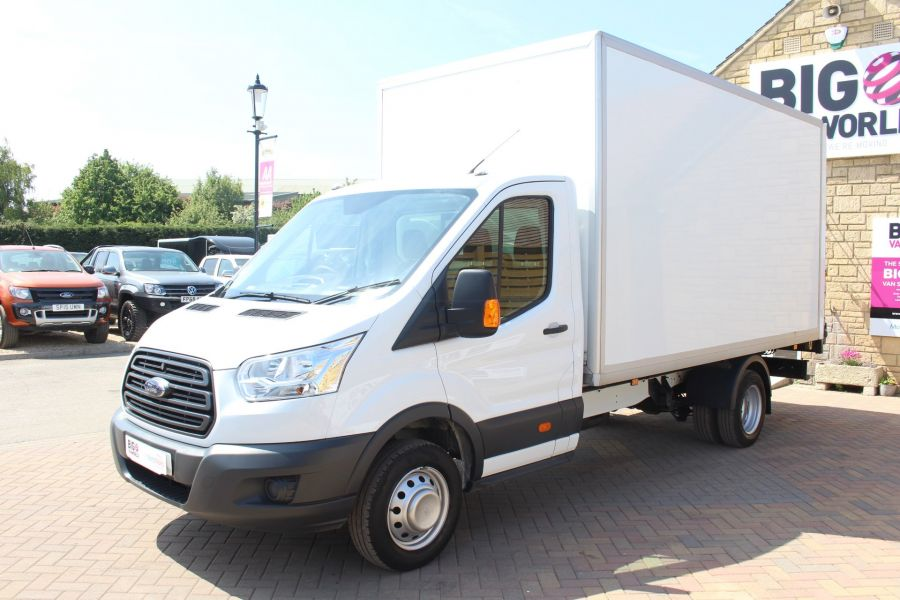 FORD TRANSIT 350 TDCI 125 L4 DRW 'ONE STOP' HIGH CAPACITY LUTON BOX WITH TAIL LIFT - 6135 - 7
