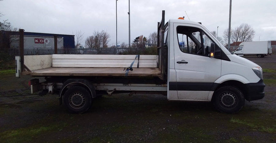 MERCEDES SPRINTER 314 CDI 140 MWB SINGLE CAB 'ONE STOP' ALLOY TIPPER  (13721) - 12170 - 3