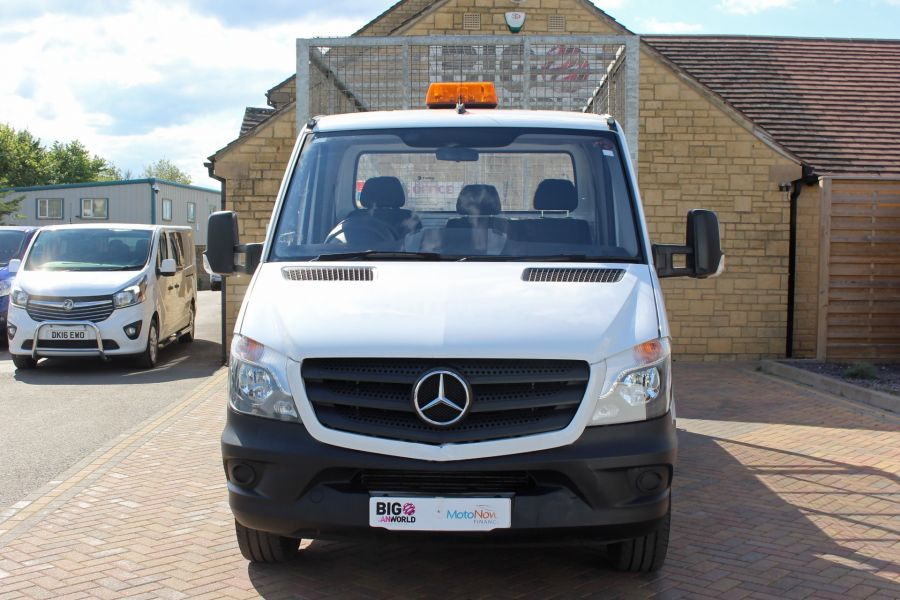 MERCEDES SPRINTER 314 CDI 140 SINGLE CAB CAGED ALLOY TIPPER - 9303 - 10