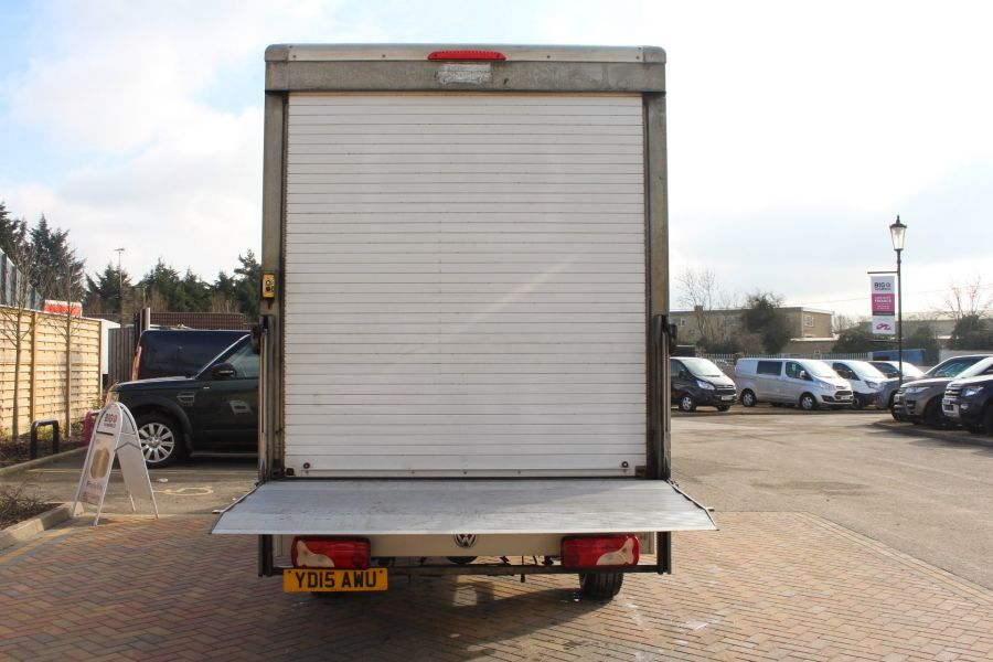 VOLKSWAGEN CRAFTER CR35 TDI 109LUTON WITH TAIL LIFT - 7362 - 18