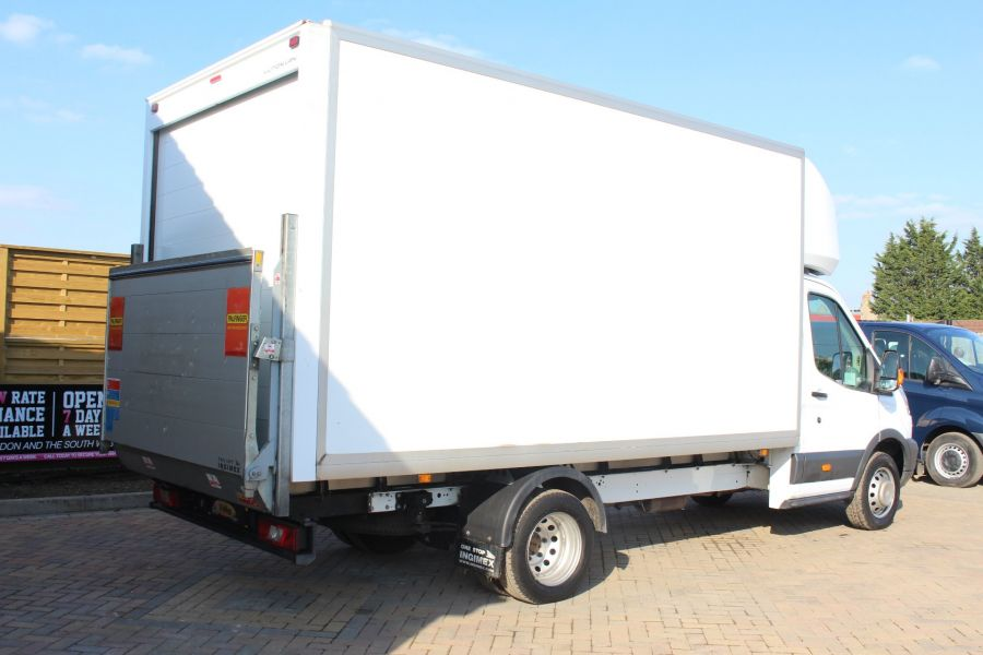 FORD TRANSIT 350 TDCI 125 DRW L4 LUTON WITH TAIL LIFT - 5940 - 3