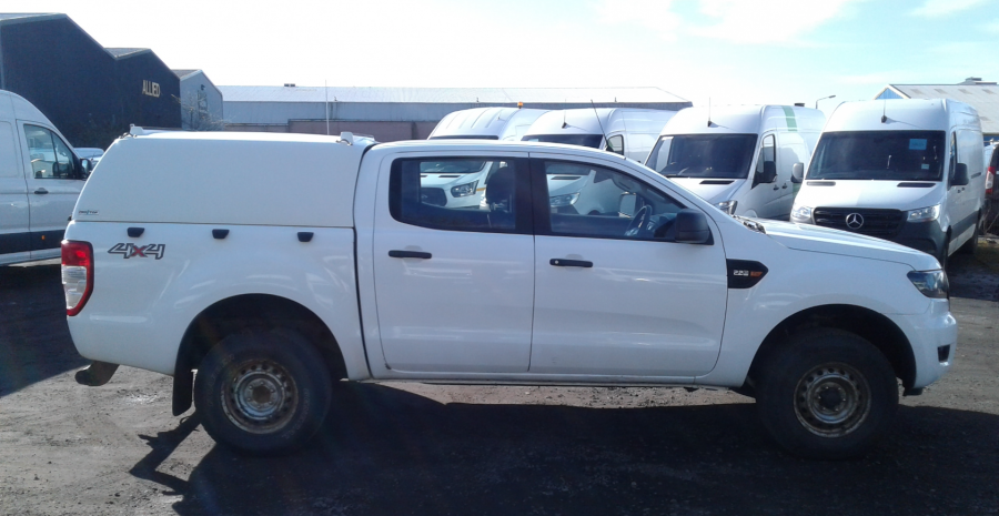 FORD RANGER TDCI 160 XL 4X4 DOUBLE CAB WITH TRUCKMAN TOP  (14253) - 12512 - 3