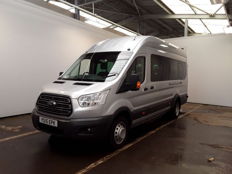 FORD TRANSIT 460 TDCI 155 L4H3 TREND 17 SEAT BUS HIGH ROOF DRW RWD - 11442 - 1