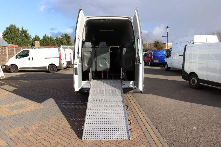 FORD TRANSIT 430 TDCI 135 EL LWB 17 SEAT BUS HIGH ROOF WITH WHEELCHAIR ACCESS RAMP DRW RWD - 10401 - 39
