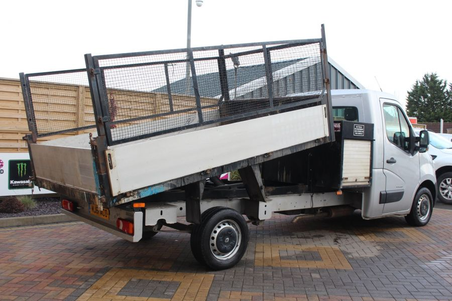 RENAULT MASTER LL35 DCI 125 LWB CAGED ALLOY TIPPER WITH SEPERATE TOOLBOX - 7124 - 5