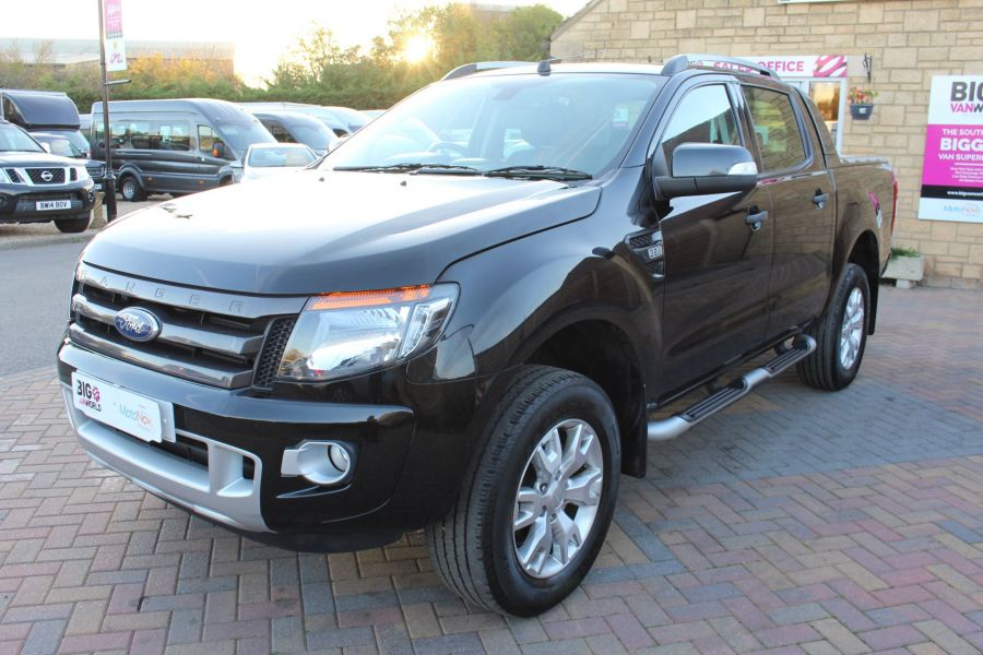 FORD RANGER WILDTRAK TDCI 200 4X4 DOUBLE CAB WITH ROLL'N'LOCK TOP - 8339 - 8