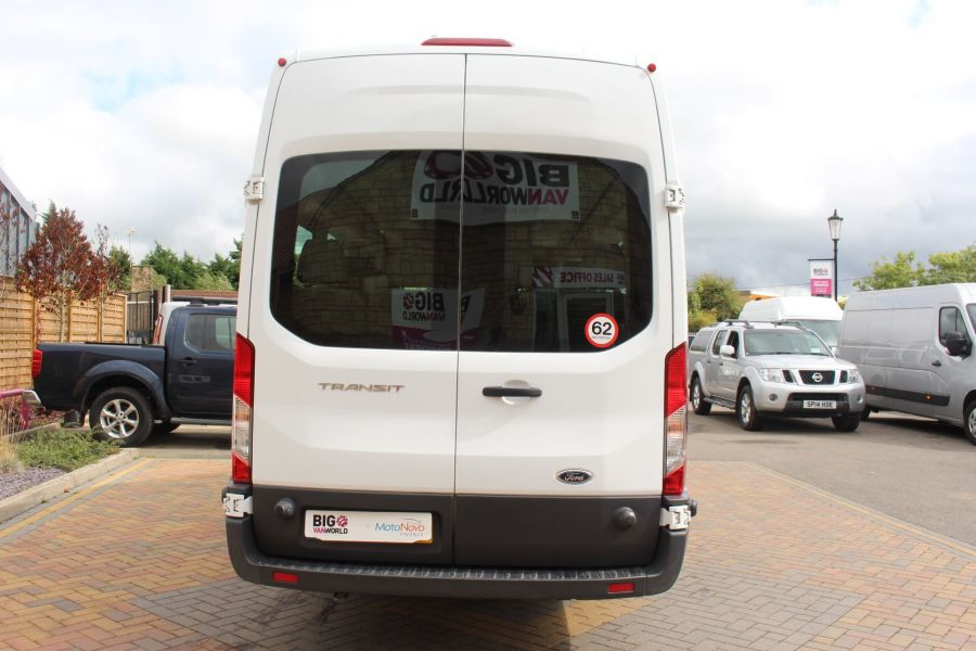 FORD TRANSIT 460 TDCI 125 L4 H3 LWB HIGH ROOF 17 SEAT BUS RWD - 6608 - 6