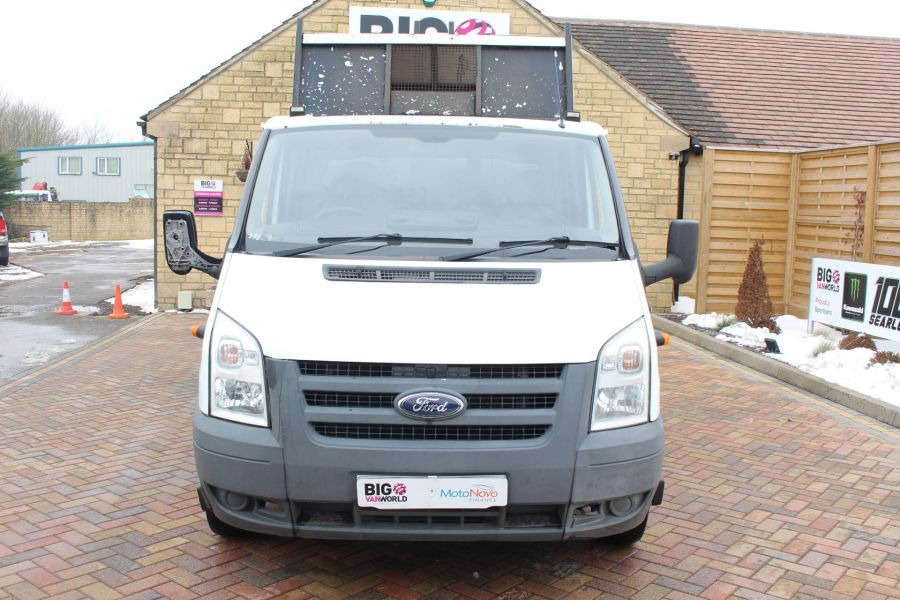 FORD TRANSIT 350 TDCI 110 LWB DOUBLE CAB HIGH SIDED ARBORIST TIPPER - 7454 - 7