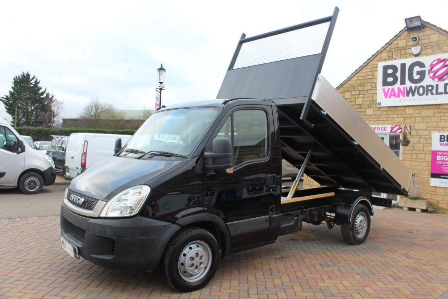 IVECO DAILY 35S13 SINGLE CAB ALLOY TIPPER - 5432 - 7