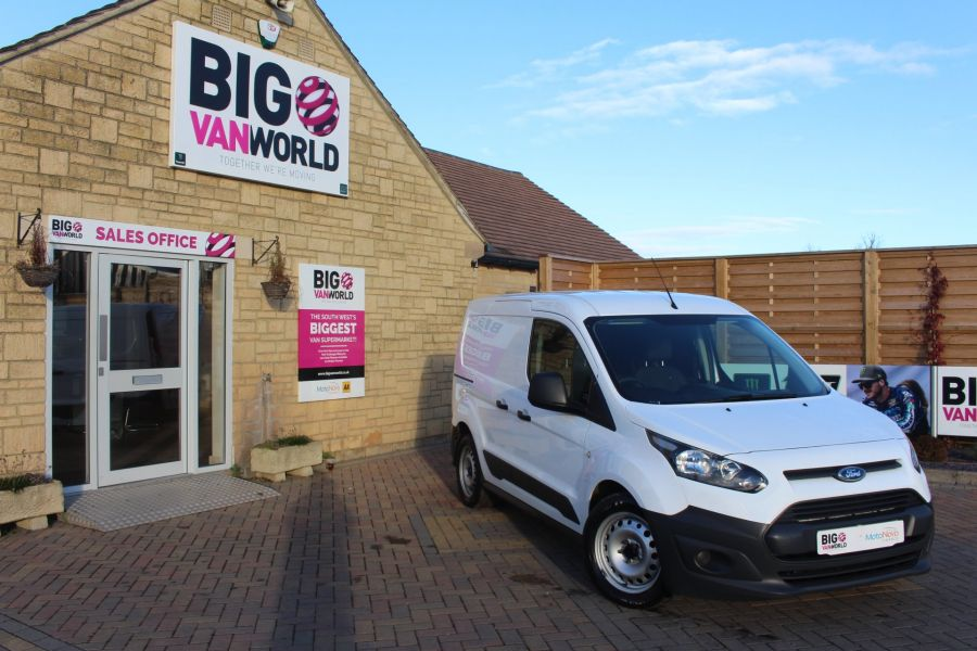 FORD TRANSIT CONNECT 220 TDCI 75 L1 H1 DOUBLE CAB 5 SEAT CREW VAN - 7184 - 1