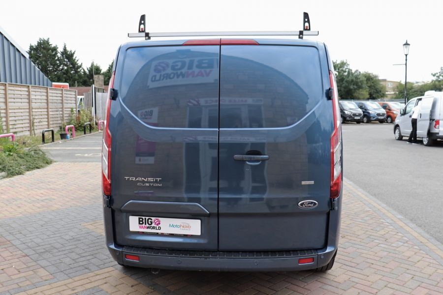 FORD TRANSIT CUSTOM 320 TDCI 130 L2 H1 LIMITED DOUBLE CAB 6 SEAT CREW VAN LWB LOW ROOF FWD - 9606 - 6