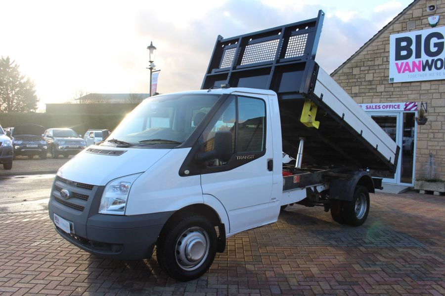FORD TRANSIT 350 TDCI 100 MWB 'ONE STOP' ALLOY TIPPER DRW RWD - 6726 - 8