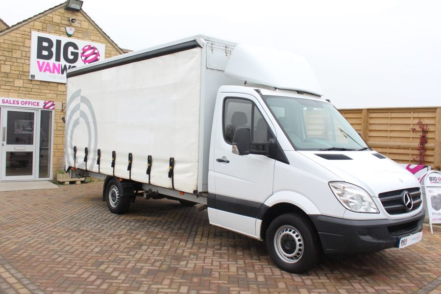 MERCEDES SPRINTER 313 CDI LWB 17FT CURTAIN SIDE BOX - 7006 - 2