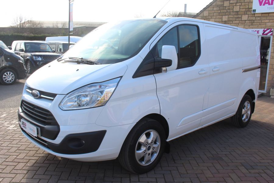 FORD TRANSIT CUSTOM 290 TDCI 170 L1 H1 LIMITED SWB LOW ROOF - 8843 - 8